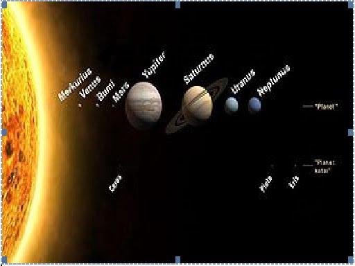 Gambar Tata Surya